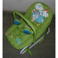 Детский шезлонг качалка BT-BB-0001 (зеленый)