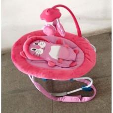 Детский шезлонг качалка Baby Tilly BT-BB-0002 (розовый)