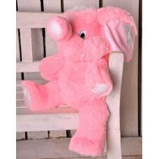 Розовый слон 90 см