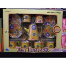 """Детский игровой набор """"Чайный сервиз"""" S 085H желтый"""