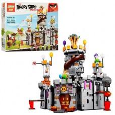 """Конструктор Angry Birds 19006 """"Замок Короля свинок"""" 917 деталей"""