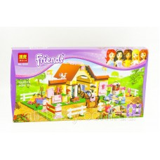 """Конструктор Bela 10163 Friends """"Городские конюшни"""" (аналог Lego 3189), 400 деталей"""
