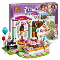 """Конструктор Bela Friends 10492 """"День рождения"""" (аналог LEGO Friends 41110), 194 детали"""
