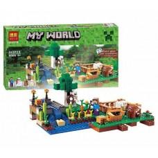 """Конструктор Bela 10175 (79044) """"Minecraft Ферма"""", 262 детали"""