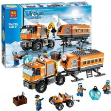 """Конструктор Bela 10440 (аналог Lego City 60035) """"Арктическая мобильная станция"""", 394 детали"""