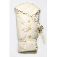 """Зимний конверт-одеяло """"Сказка"""" бежевый"""