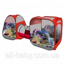"""Игровая палатка с туннелем M 2959 """"Машинки"""""""