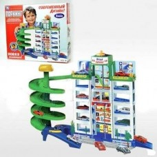Детский Гараж 922 (6 этажей и 4 машинки)