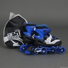 Ролики Best Rollers 1002 «M (35-38)» синие