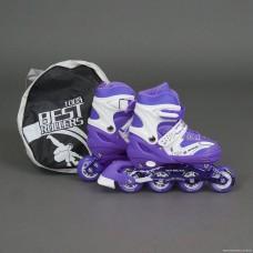 Ролики Best Rollers 1003 «L (39-42)» фиолетовые