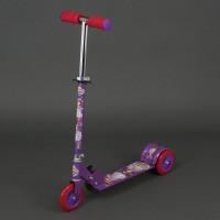 Самокат 466-363 металлический (фиолетовый)