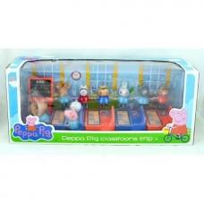 Игровой набор «Школа Свинки Пеппы» LQ918A