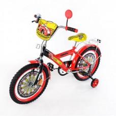 Велосипед TILLY Автогонщик 18'' T-21824 red + black