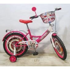 Велосипед TILLY Автоледі 18'' T-21826 crimson + white