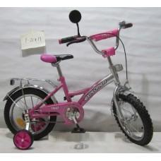 Велосипед Explorer 14'' T-21411 pink + silver