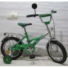 Велосипед Explorer 14'' T-21412 green + silver