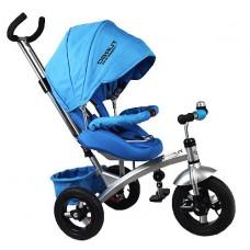 Велосипед Turbo Trike с поворотным сиденьем M 3194 голубой