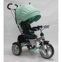 Детский трехколесный велосипед Crosser T-503 EVA (мята)